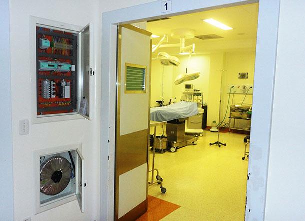 Entrada Sala de Cirurgia